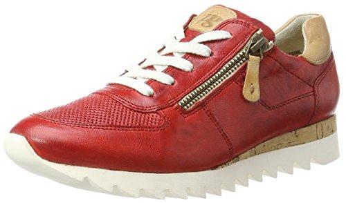 Paul Green Damen 4485021 Sneaker, Rot (Red), 37.5 EU (7US)