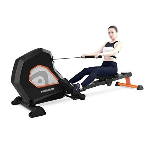 BZLLW Aptitud Plegable Remo magnético de la máquina - Cardio for Fortalecer los músculos Rower Multi-Ejercicio Placas for Patas y Compacto