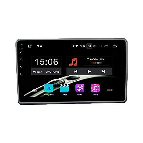 Android 10 4G Ram 64G ROM PX6 Cortex A72 Navigation Radio Steering Wheel Control IPS DSP Bluetooth WiFi for Mahindra KUV100
