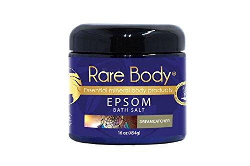Rare Body Dreamcatcher Bath Salt – Deep Relaxation Bath Soak with a Blend of Celtic Sea Salt, Epsom and Essential Oils, All Natural, Vegan and Gluten Free – 16 Ounces