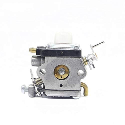 Dafengchui Carburetor Carber for Husqvarna 122HS45 122HD60 Piezas de recortadoras reemplaza 523012401 for McCulloch 4528 for Redmax ChT220 (Color : Gray)