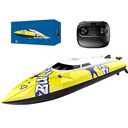 RC Schnellboot Boot, 2,4 Ghz 20 Km/H Hochgeschwindigkeits Fernbedienungsboot, Für Pools Und Seen, Selbstaufrichtendes Schnellboot, Wiederaufladbare Batterien, Spielzeuggeschenk
