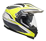 CGM 606G-ASV-93 Amarillo Fluo (L) Casco Cross (Forward) con Pantalla
