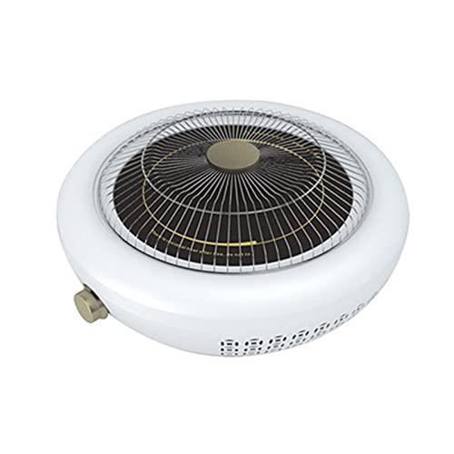 ZIHUAD Calentador Far-infrarrojo Multifuncional Secador de Ropa eléctrico Calentador de brasero eléctrico White