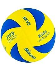Mikasa Piłka do siatkówki SKV5, niebieska/żółta, 117
