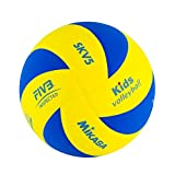 MIKASA SK-V5 (Kids) Balón termosoldado, Unisex, Amarillo/Azul, 5