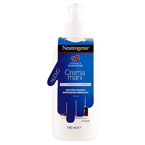 6 x Neutrogena Crème Mains absorption rapide avec doseur 140 ml