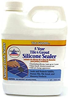 Homax 1 Quart, 32 oz, Interior Exterior 5 Year Tile and Grout Silicone Sealer