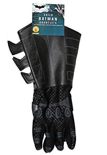 Batman The Dark Knight Rises Handschuhe Kinder Kostüm Zubehör Stoff / Lederimitat