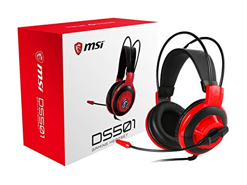 MSI Gaming Headset with Microphone (DS501) BLACK