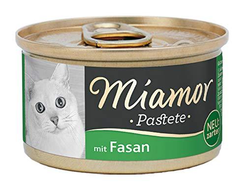 Miamor Katzenfutter Pastete-Mix, 1er Pack (1 x 85 g)