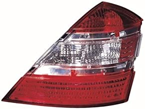 Go-Parts - OE Replacement for 2007 - 2009 Mercedes-Benz S550 Rear Tail Light Lamp Assembly / Lens / Cover - Right (Passenger) Side 221 820 04 66 MB2801121 Replacement For Mercedes-Benz S550