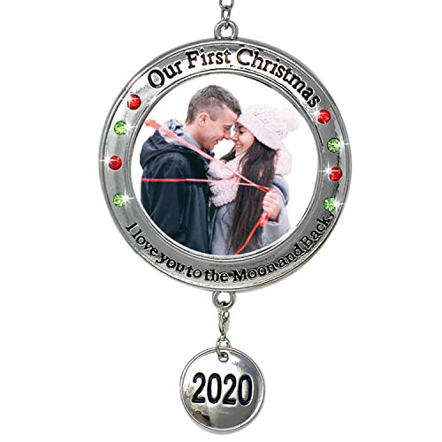 BANBERRY DESIGNS 2020 Our First Christmas Ornament - 1st Xmas Ornament Picture Opening - I Love You to The Moon and Back