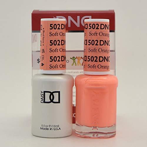 DND Gel & Matching Polish Set (502 - Soft Orange)