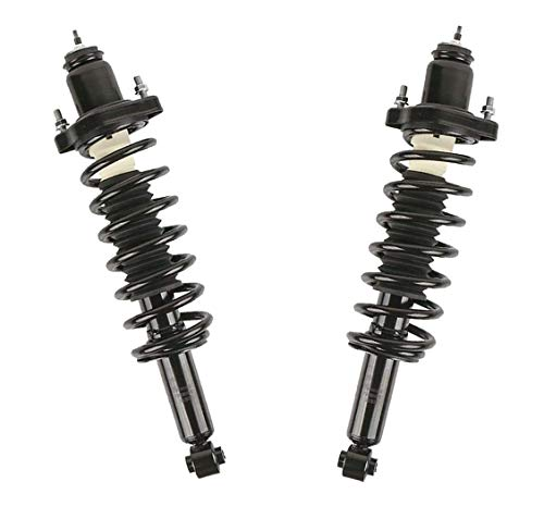 Detroit Axle - Rear Struts Replacement for 2007-2016 Dodge Caliber Jeep Compass Patriot, Coil Spring Assembly - 2pc Set