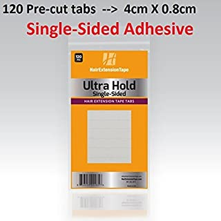 Ultra Hold SINGLE-SIDED Extension Tape tabs 120-pcs per pack