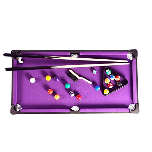 Read About Desktop Ball Game Tabletop Pool Table Set And Accessories Billiard Tables Balls Cues And ...