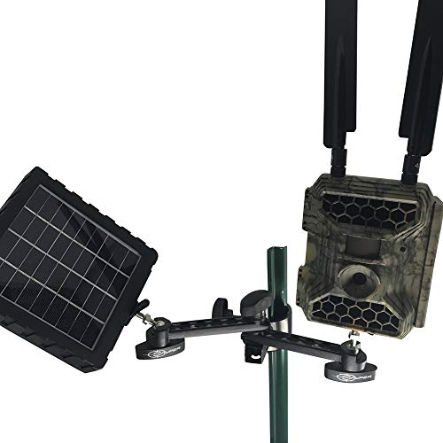 Snyper Hunting Trail Camera Mount for Game Monitoring.Trail Camera Holder with Adjustable Options.