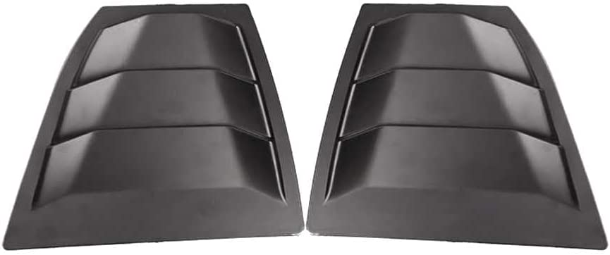 SAXTZDS Black Car Rear Our shop OFFers the best service Window Louver Axela Ranking TOP3 3 fit for Cover Mazda