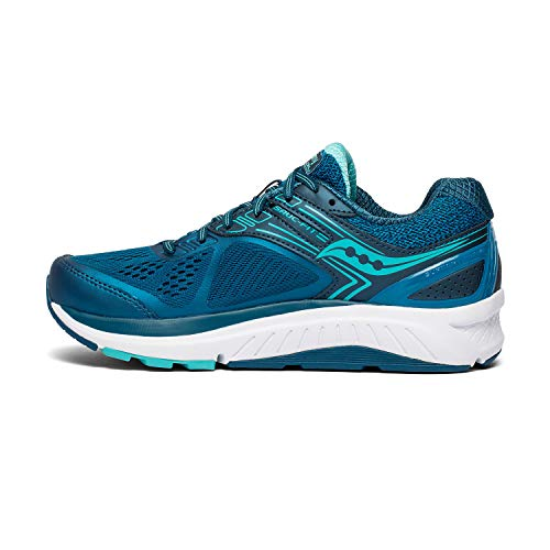 Saucony Women's S10468-2 Echelon 7 Running Shoe, Teal - 8 M US