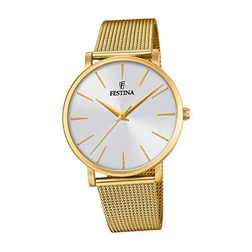 Reloj Festina de mujer dorado