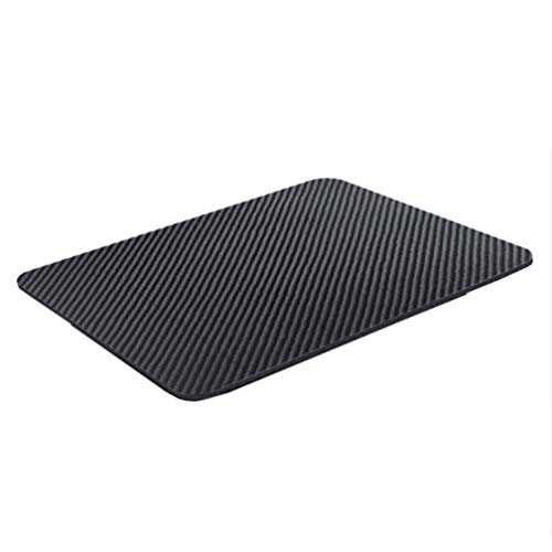 Ultra-Thin Carbon Fiber Mouse pad Gaming Business Office Twill Weave Fabric Non-Slip and Waterproof
