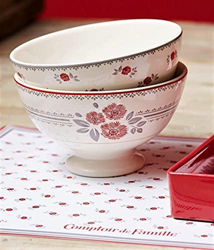 Comptoir de Famille Bol Collection Floral 75cl