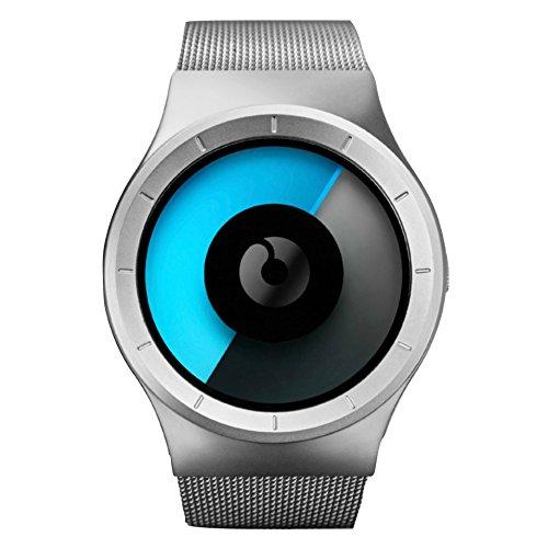 Ziiiro x Sportique celeste Ltd Watch–Chrome mono