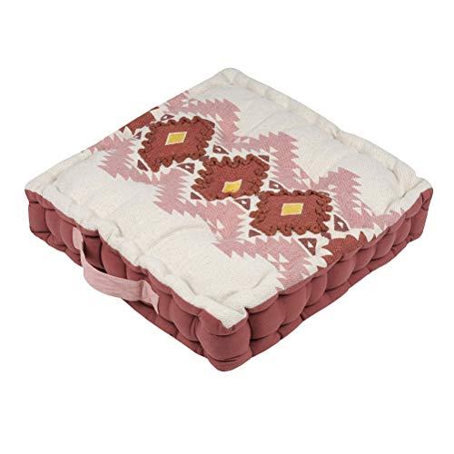 Zen et étnico - Cojín de suelo (100% algodón), diseño de puebla
