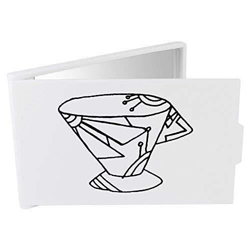 Azeeda 'Coupe Art Déco' Miroir Compact / de Poche (CM00015773)