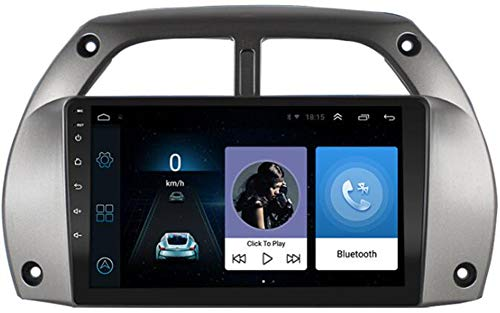 WFYZXE per Toyota Rav4 2001-2006 Radio Autoradio Doppio DIN Android Navigazione GPS SAT NAV Touch Screen da 9 Pollici Lettore Multimediale Ricevitore Video Bluetooth WiFi,WiFi 1g+16g