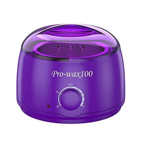 AZOREX Calentador de Cera Depilación Eléctrico para Depilación Set Wax Profesional 500ml...