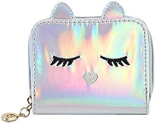 MOCA Grey Faux Leather Women's & Girls Wallet (P8680S)