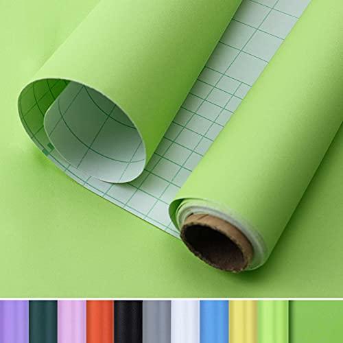 Consine Light Green Peel and Stick Wallpaper, 15.7x118 inches Wallpaper, PVC...