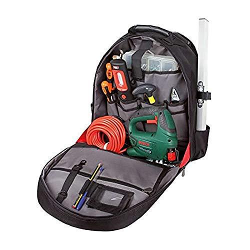 Tayg 098604 Mochila Trolley para herramientas, Negro y gris