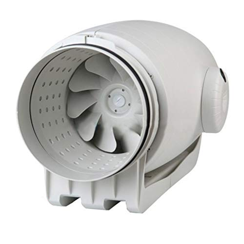 Ventilador de tubo TD-500/150-160 Silent 3V (220-240V 50/60), extremadamente silencioso, de plástico, 48 x 27 x 22 centímetros, color blanco (Referencia: 5211366400)