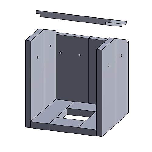Kaminofen Vermiculiteplatten passend für Justus Asmara - Set 11-teilig Feuerraumauskleidung