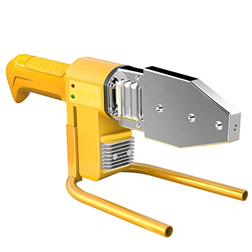 Rohrschweißmaschine 220 V 800 Watt Digitalanzeige Manuelle Kunststoff Wasser Rohrschweißer PE/PPR/PB/PVDF/HDPE/PVC (Box Kopf Kit 20~32mm)