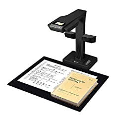 """Patented """"Laser-Based Image Flattening"""" Technology provides High-quality scanning results for professional use. Digitizing books without unbinding them! Fast & High-definition: Scanning speed is up to 1.5 page/second, and Image Resolution is 18MP 10 ..."""
