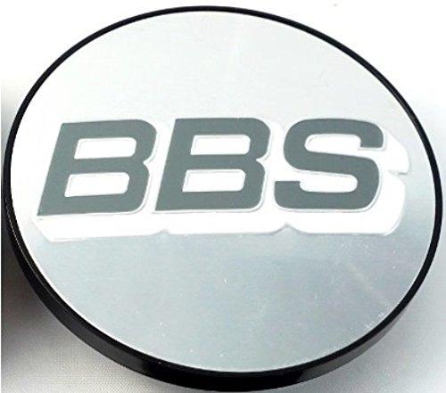 1x BBS Felgendeckel Symbolscheibe Emblem Silber Weiß 70mm BB0924486 NEU mit Sprengring
