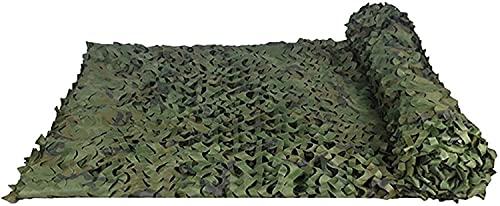 BRFDC Malla de Camuflaje Vela de Sombra Jungle Maple Camo Net Woodland Netificación de Camuflaje para la Caza Camping Party Decoration 616 (Color : B, Talla : 4x15m)