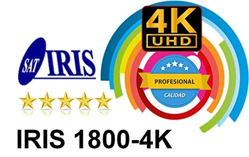 RECEPTOR SATELITE DE SOBREMESA IRIS 1800 4K/ QUAD CORE/