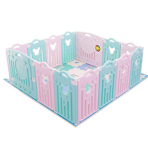 Relaxbx Baby Fence Home Enfants 'S Play Clôtures Baby Baby Toddler Safety Fence Jeux intérieurs Clôture de Jeu