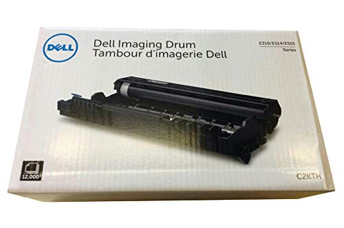 Dell (Yield 12,000 Pages) Black Imaging Drum for E310dw/E515dw/E515dn Printers