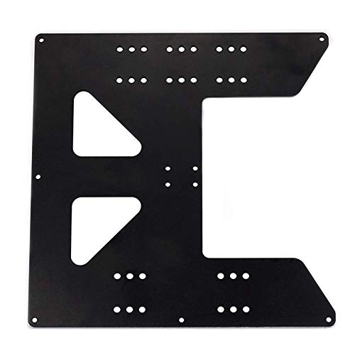VANOLU 3D Printing Accessories Z Axis Support Aluminum Plate Prusa I3 Anet A8 A6 Hot Bed Support Plate Hot Bed Aluminum Plate