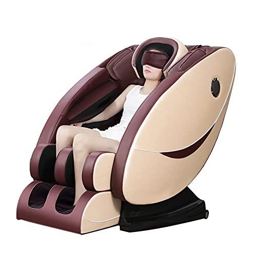 GUHUIHE Cápsula Silla de Masaje Cuerpo Completo Multifunción Modificado eléctrico Masaje automático Silla de Masaje Anciano, incluida la máscara de los Ojos (Color : Picture Color)