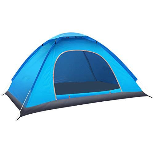 Zelt Outdoor Wasserdicht Vollautomatisch Schnelles Pop-Up Öffnen Campingzelt im Freien 1-2 Personen Ultraleichte Campen Zelt Regensicheres Touristenzelt Wandern Reise Bergsteigen Zelte Strandzelte (A)
