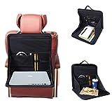 Bandeja de almacenamiento y soporte para respaldo de asiento de coche, Organizador para Coche, Protector de Asiento para Coche, para portátiles o comida