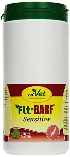 cdVet Naturprodukte Fit-BARF Sensitive 700 g - Hund&Katze - getreidefrei - ausgeglichene Ernährung bei Rohfütterung - Bauchspeicheldrüsen-, Nieren-, Leber-, Reduktionsdiäten - Vitamine - BARFEN -