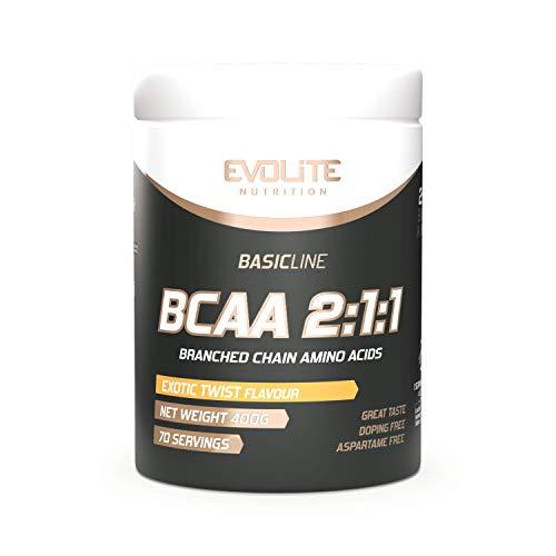 Evolite Nutrition BCAA 2:1:1 400 g - Exotic Twist